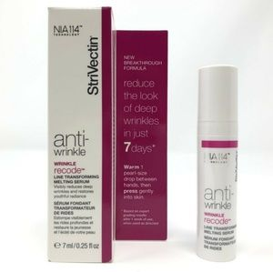 4/$20 StriVectin anti wrinkle recode melting serum